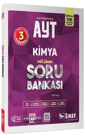 Sınav Dergisi Yayınları AYT Kimya Full Çeken Soru Bankası Sınav Dergisi