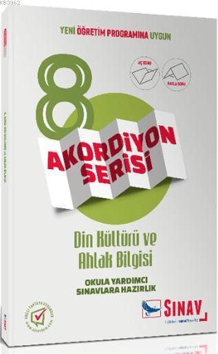 8. Sınıf Din Kültürü ve Ahlak Bilgisi Akordiyon Serisi; Yeni Öğretim Programına Uygun