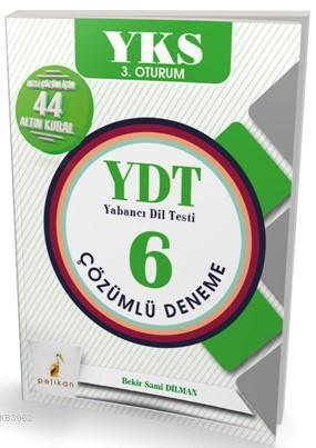 YKS 3.Oturum YDT 6 Çözümlü Deneme