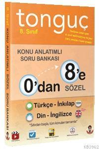 0'dan 8'e Sözel Konu Anlatımlı Soru Bankası; Türkçe, İnkılap Tarihi, İngilizce, Din Kültürü