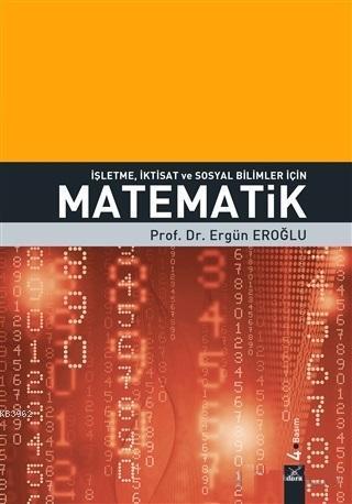 İşletme İktisat ve Sosyal Bilimler için Matematik