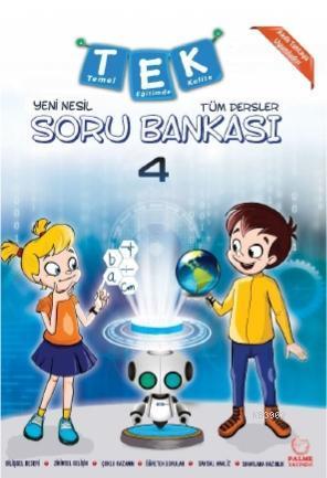 4 . Sınıf Tüm Dersler Yeni Nesil Soru Bankası
