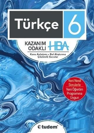 Tudem Yayınları 6. Sınıf Türkçe Kazanım Odaklı HBA Tudem
