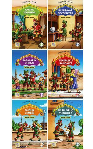 Güler Yüzle Tatlı Söz Hacivat'la Karagöz (6 Kitaplık Set)