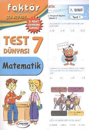 7. Sınıf Matematik Test Dünyası