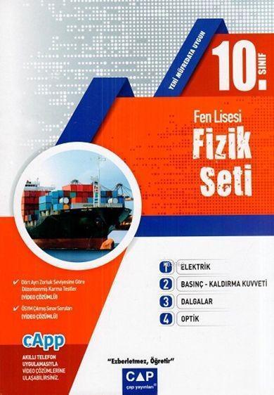 Çap Yayınları 10. Sınıf Fen Lisesi Fizik Seti Çap