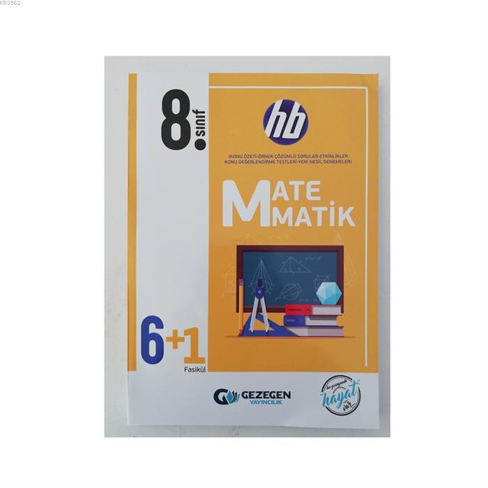 Gezegen Yayınları 8. Sınıf LGS Matematik hb 6+1 Fasikül Gezegen
