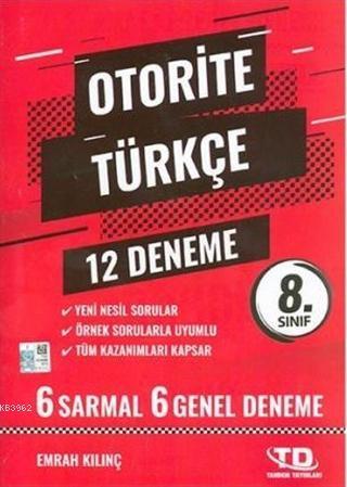 8.Sınıf Türkçe Otorite 12 Deneme