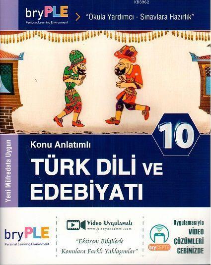2019 10. Sınıf Türk Dili ve Edebiyatı Konu Anlatımlı Birey PLE
