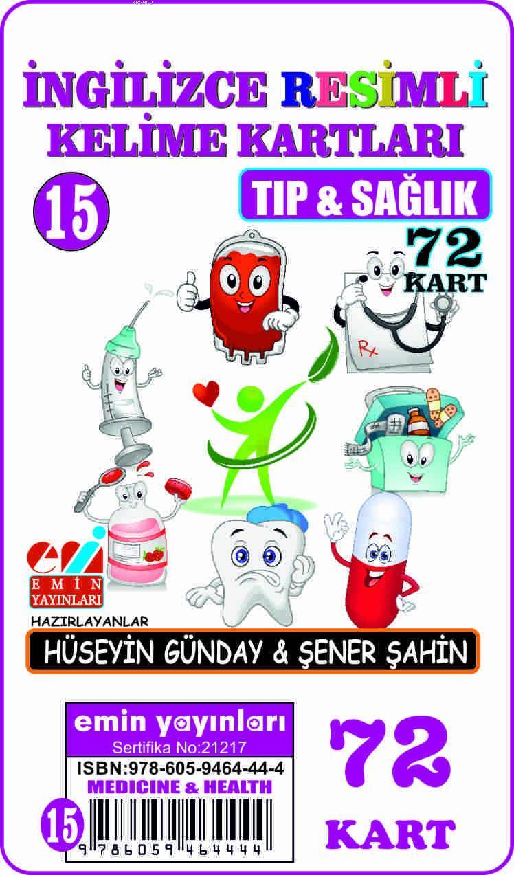 İngilizce 15.Tıp ve Sağlık / Resimli Kelime Kartları  72-Kart