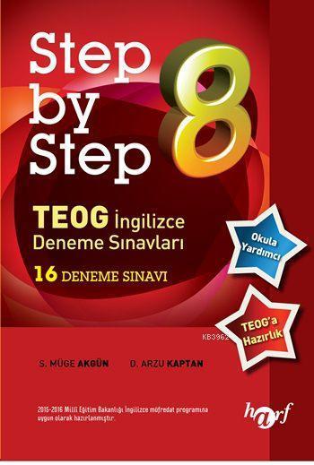 Step by Step TEOG İngilizce Deneme Sınavları; 16 Deneme Sınavı