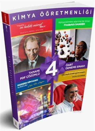 2020 KPSS ÖABT Kimya Öğretmenliği Tamamı PDF Çözümlü 4'lü Deneme Sınavı