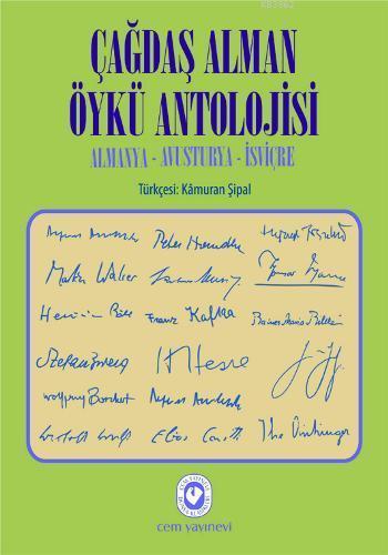 Çağdaş Alman Öykü Antolojisi; Almanya  Avusturya  İsviçre