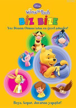 Winnie the Pooh - Biz Bize; Boyama Kitabı