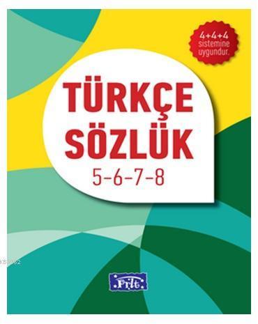 İlköğretim Türkçe Sözlük 5- 6- 7- 8