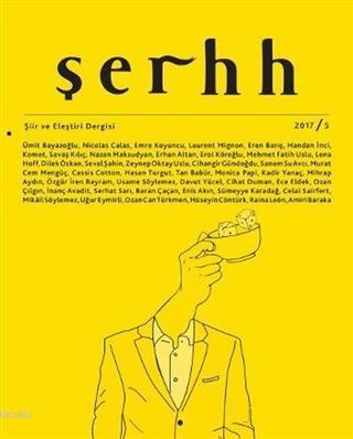Şerhh Şiir ve Eleştiri Dergisi Sayı: 5