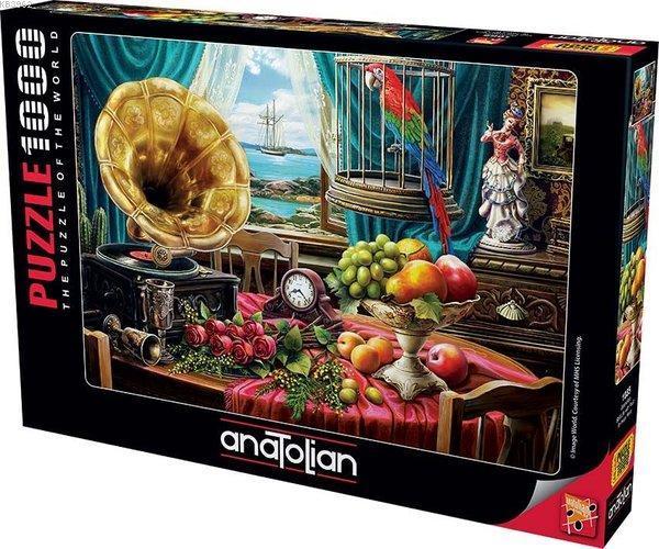 Anatolian-Puzzle 1000 Gramofon Still Life With Fruit