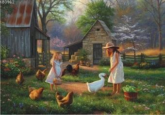 Anatolian Puzzle Çiftlikte Akşamüstü Puzzle 500 Parça 3515