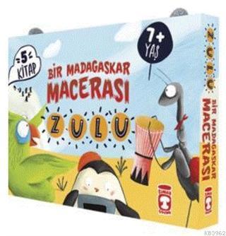 Zulu ile Bir Madagaskar Macerası - Set (5 Kitap Takım)