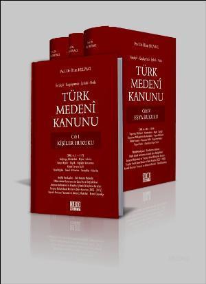 Türk Medeni Kanunu (4 Cilt Takım)