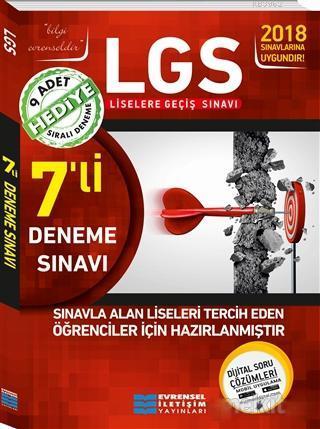 2018 8. Sınıf LGS 7'li Video Çözümlü Deneme Sınavları