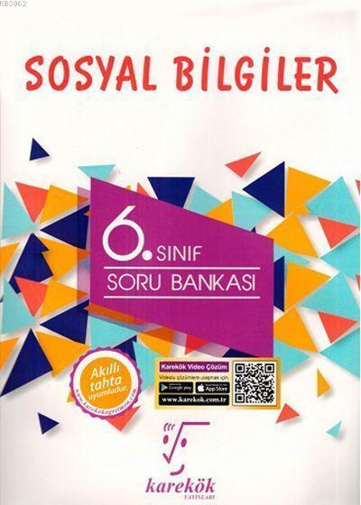 Karekök Yayınları 6. Sınıf Sosyal Bilgiler Soru Bankası Karekök