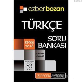2018 KPSS Ezberbozan Türkçe Soru Bankası