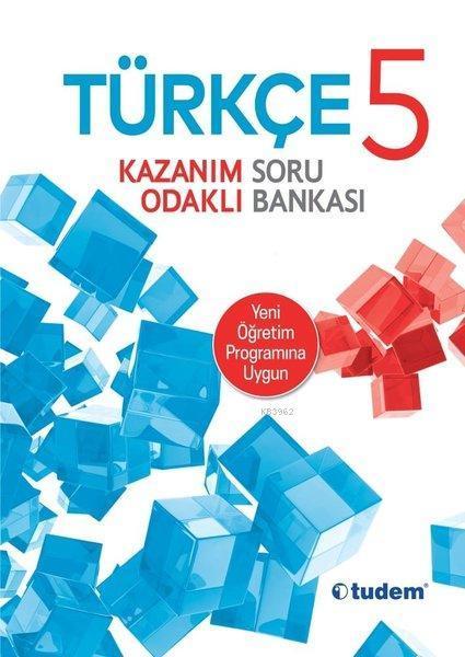 Tudem Yayınları 5. Sınıf Türkçe Kazanım Odaklı Soru Bankası Tudem
