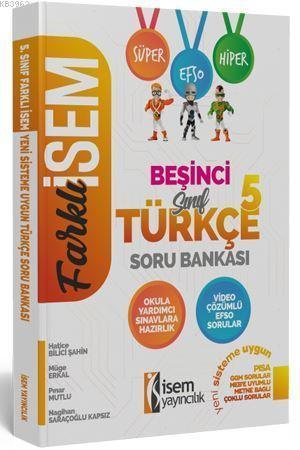İsem Yayınları 5. Sınıf Türkçe Soru Bankası İsem