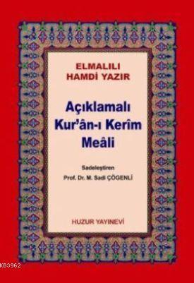 Açıklamalı Kur'an-ı Kerim Meali (Kod:045, Küçük Boy, Metinsiz)