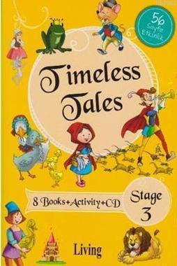 Stage 3-Timeless Tales 8 Books+Activity+CD