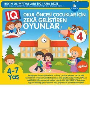 4-7 Yaş Okul Öncesi Çocuklar İçin IQ Zeka Geliştiren Oyunlar 4