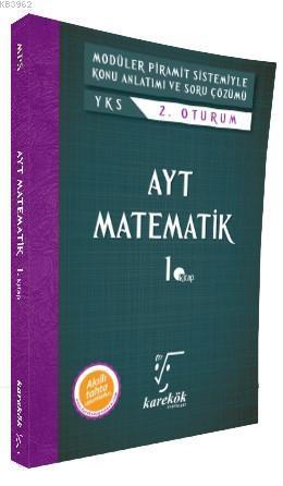 Karekök Yayınları AYT Matematik 1. Kitap MPS Karekök