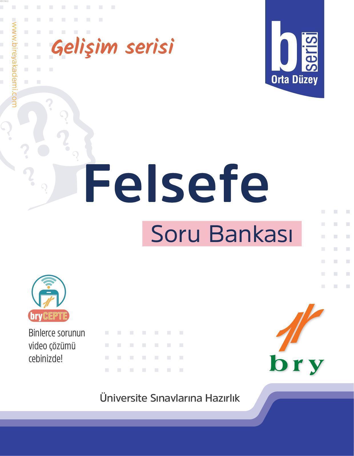 BRY Gelişim Serisi - Felsefe Soru Bankası