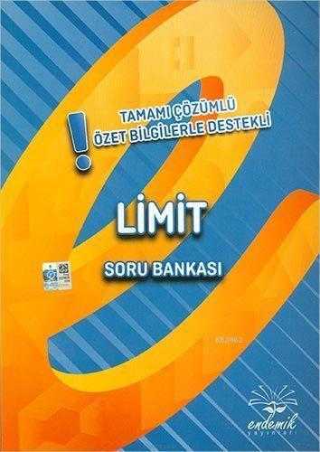 Endemik Yayınları Limit Özet Bilgilerle Destekli Soru Bankası Endemik