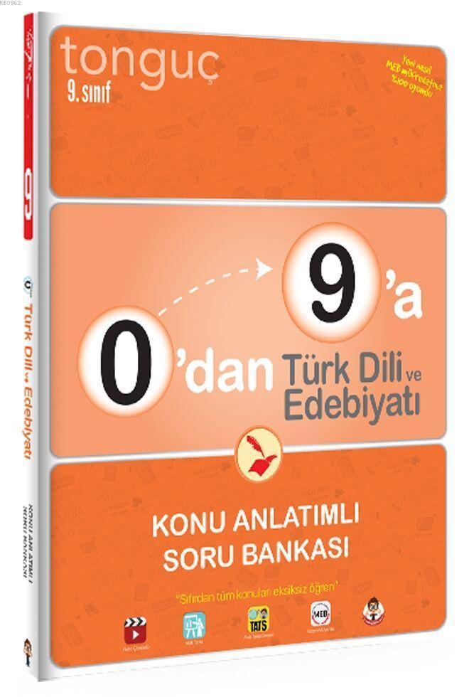 Tonguç 9.Sınıf 0'dan 9'a Türk Dili ve Edb. KA SB