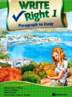 Write Right Paragraph to Essay 1 with Workbook (14-17 Yaş)