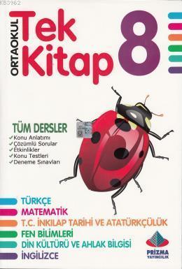 Tek Kitap 8. Sınıf Tüm Dersler
