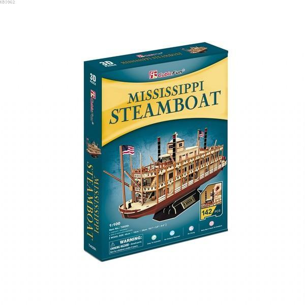 NecoToys T4026h Mississippi SteamBoat  3D Puzzle
