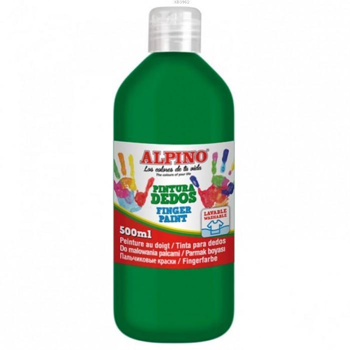 Alpino 500Gr.Parmak Boyası Yeşil 11073