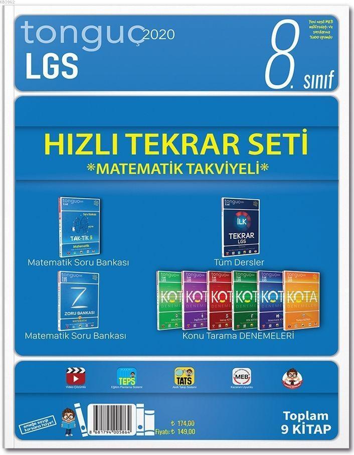 Tonguç Yayınları 8. Sınıf LGS Hızlı Tekrar Seti Tonguç