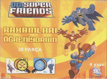 Dc Süper Friends Rakamları Öğreniyorum; 4 Yaş+ 20 Parça 40986
