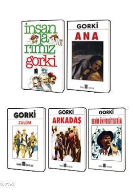 Maksim Gorki Klasikleri 5 Kitap Set 1