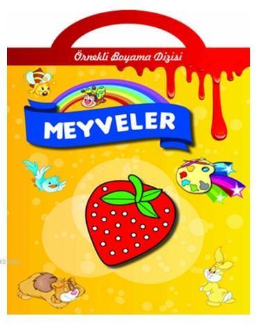 Örnekli Boyama - Meyveler