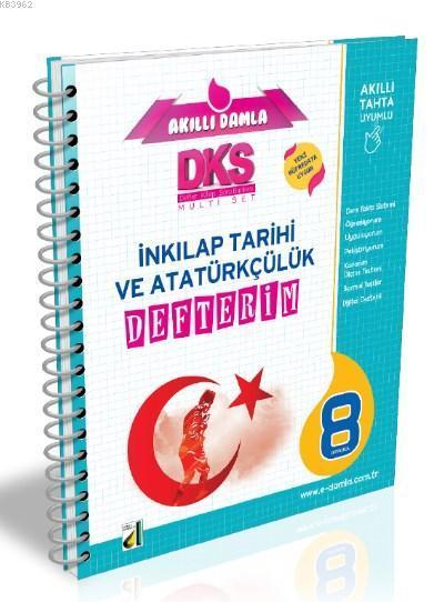 DKS 4B T.C. İnkılap Tarihi ve Atatürkçülük Defterim - 8. Sınıf