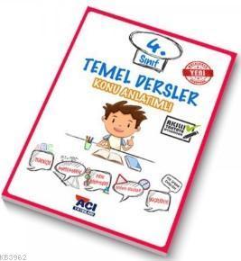 Açı Yayınları 4.Sınıf Temel Dersler Konu Anlatımlı