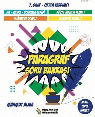 7.Sınıf Paragraf Soru Bankası