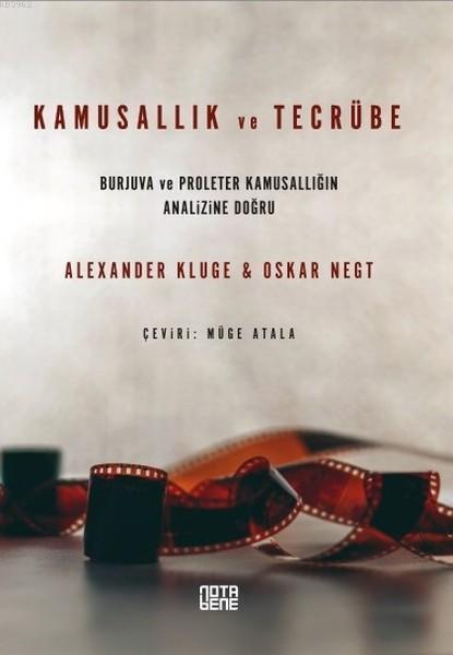 Kamusallık ve Tecrübe; Burjuva ve Proleter Kamusallığın Analizine Doğru