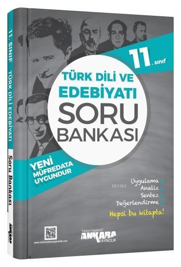Ankara Yayınları 11. Sınıf Türk Dili ve Edebiyatı Soru Bankası Ankara