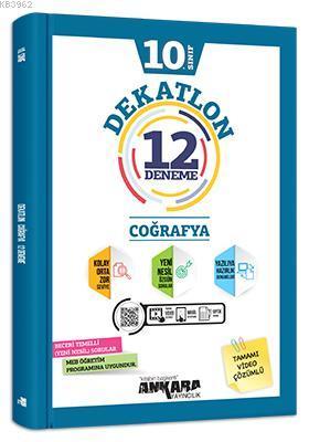 10. Sınıf Dekatlon Coğrafya 12 Deneme